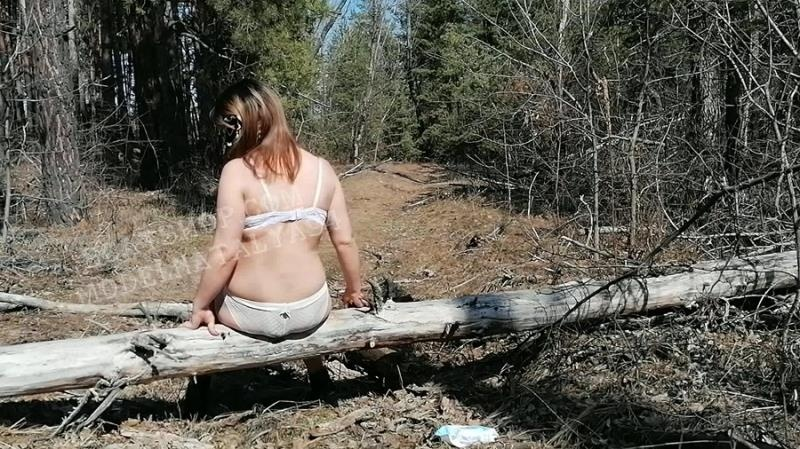 Eats shit in the forest - ModelNatalya94 [2021 | FullHD] - Scatshop